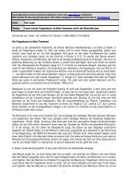 Autor: Karl Layer Thema: Israel und der Feigenbaum: Im ... - Kahal.De
