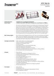 GETO Sider Alu Curtainsider-Bausatz - Titgemeyer
