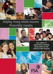 Helping young adults become financially capable - Communities ...