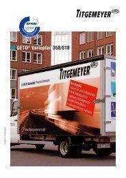 GETO® Varioplan Planenschiebewand - Titgemeyer
