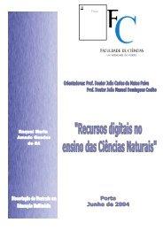 Recursos digitais no ensino das Ciências Naturais - Nautilus ...
