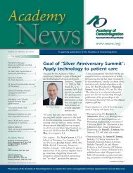 "Goal of ""Silver Anniversary Summit"": Apply technology to patient care"