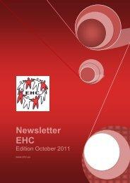 Newsletter of October 2011 - EHC