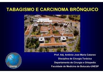 tabagismo e carcinoma brônquico - Escola Médica Virtual da ...