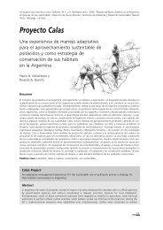 Proyecto Calas - Secretaria de Ambiente y Desarrollo Sustentable