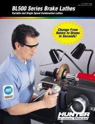 BL500 Series Brake Lathes