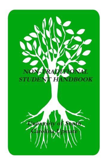 Non-Traditional Student Handbook - University of South Carolina ...