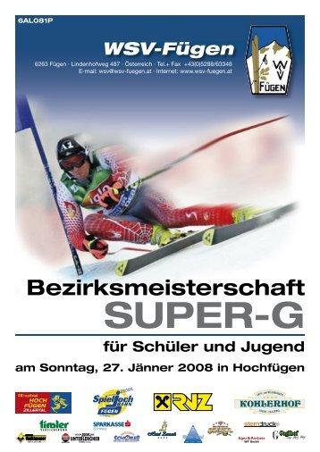 WSV-Fügen - Tiroler Skiverband