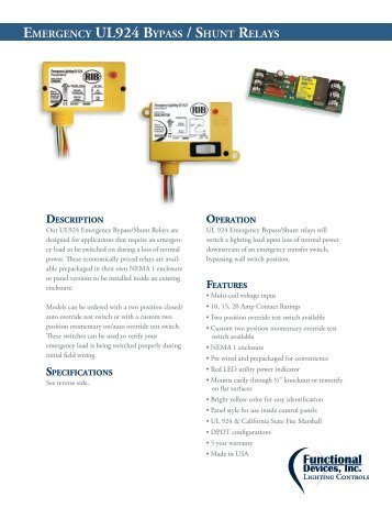 Ul 924 standard wiring diagram wiring diagram ul 924 wiring diagram dirt and plant diagram ul 924 bypass relay rh 919ez info emergency cheapraybanclubmaster Images