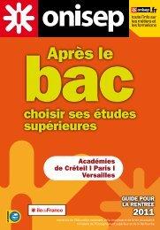 après le bac - Orientation - Académie de Créteil