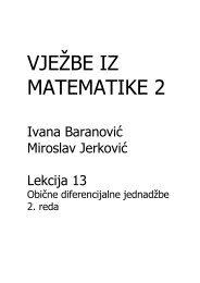 Obične diferencijalne jednadžbe 2. reda