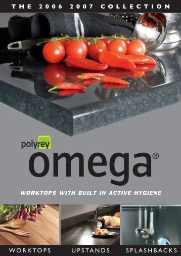 Omega Surfaces Brochure - Kitchens 123