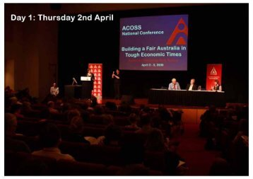 Conference Papers Day 1 - Australian Council of Social Service