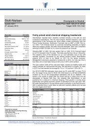 Stolt-Nielsen - Fondsfinans