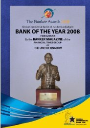 GCB Annual Report 2008 - Ghana Commercial Bank