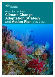 Great Barrier Reef Climate Change Adaptation Strategy and Action ...