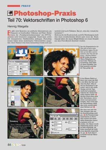12/2000 Vektorschriften in PS6 - Hennig Wargalla