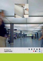 Architecture LightFrame – Modulare Gewebedecken - SEFAR