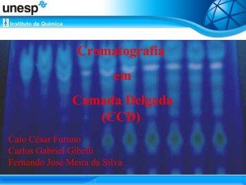 Cromatografia em Camada Delgada (CCD) - cempeqc