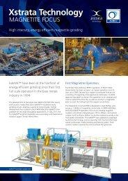 XTT 1869 Magnetite Flyer DM-03.indd - Xstrata Technology