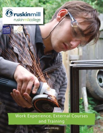 Work Experience, External Courses and Training - Ruskin Mill Trust