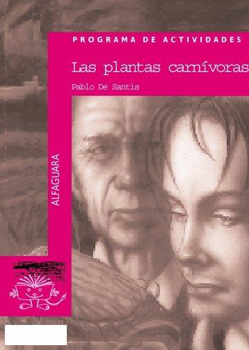 Guía Las plantas carnívoras - Alfaguara