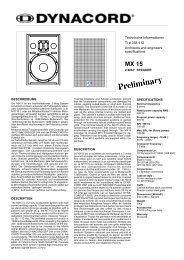Technische Informationen TI # 358 412 Architects and engineers ...