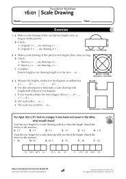 NSM 8 Student CD/Foundation Worksheet 16 - Pearson Australia ...