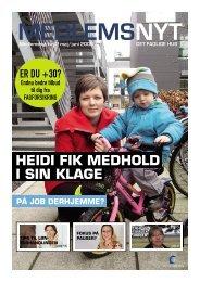 HEIDI FIK MEDHOLD I SIN KLAGE - Det Faglige Hus