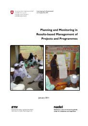 Planning and Monitoring in Results-based Management of Projects ...