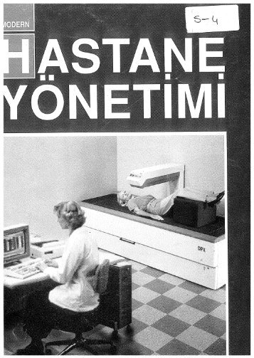 Modern Hastane Yönetimi Dergisi