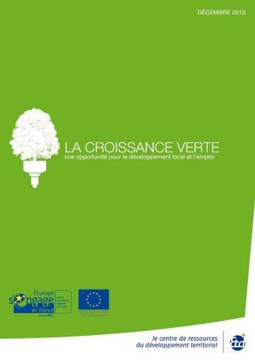 La croissance verte - Ea éco-entreprises