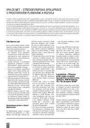spa-ce.net - Ústav územního rozvoje
