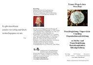 Info-Flyer - Trauer-Wege-Leben