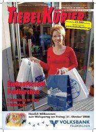 Einkaufsstadt Feldkirchen - Tiebelkurier