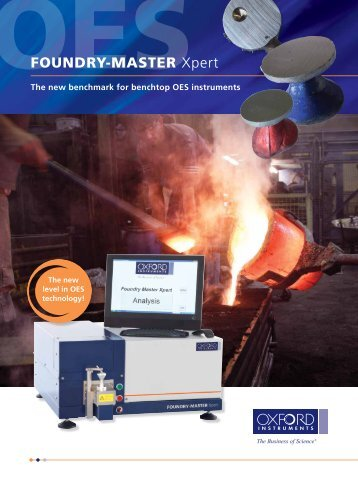 FOUNDRY-MASTER Xpert - OES spectrometer for analysis of metals