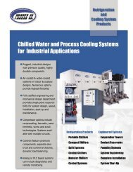 Chilled Water and Process Cooling Systems for Industrial Applications