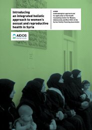 Introducing an integrated holistic approach to women's ... - Aidos