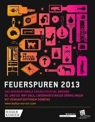Programmheft Feuerspuren | pdf - Kultur Vor Ort e.V.