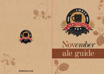 Speciality Beer - Nottingham CAMRA