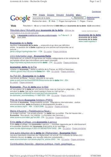 Google 7 août 2006 - Lists - Indymedia