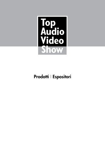 Products - Top Audio