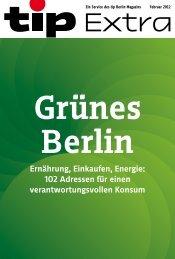 Grünes Berlin - Tip Berlin