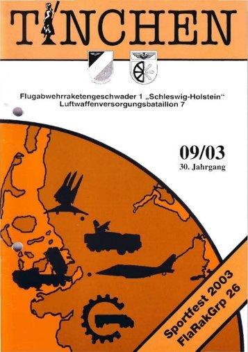 Flugbahnvermessung mit NIKE, Sportwoche 2003, Hafentage ...