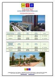 CLUB HOTEL SERA ULTRA HERŞEY DAHİL KONAKLAMA