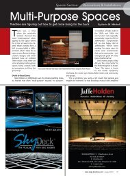 Multi-Purpose Spaces: Theatres are figuring out how ... - Jaffe Holden