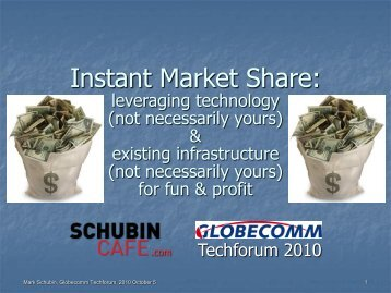 Instant Market Share: - Globecomm Systems Inc.
