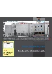 Presentazione Lavoro conferenza stampa - Provincia di Pordenone