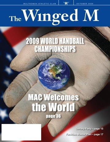 the World - Multnomah Athletic  Club