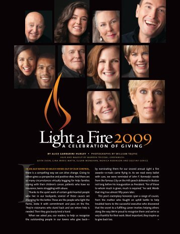 Light a Fire 51-61 - The Deirdre Imus Environmental Health Center